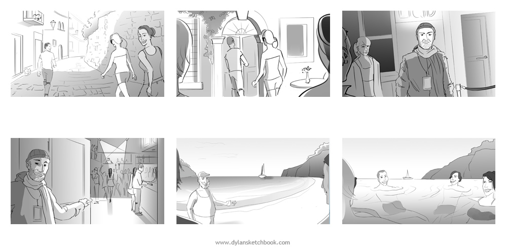 Advertising Storyboards