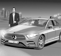 Mercedes Storyboards