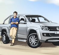 VW Amarok Colour Storyboards