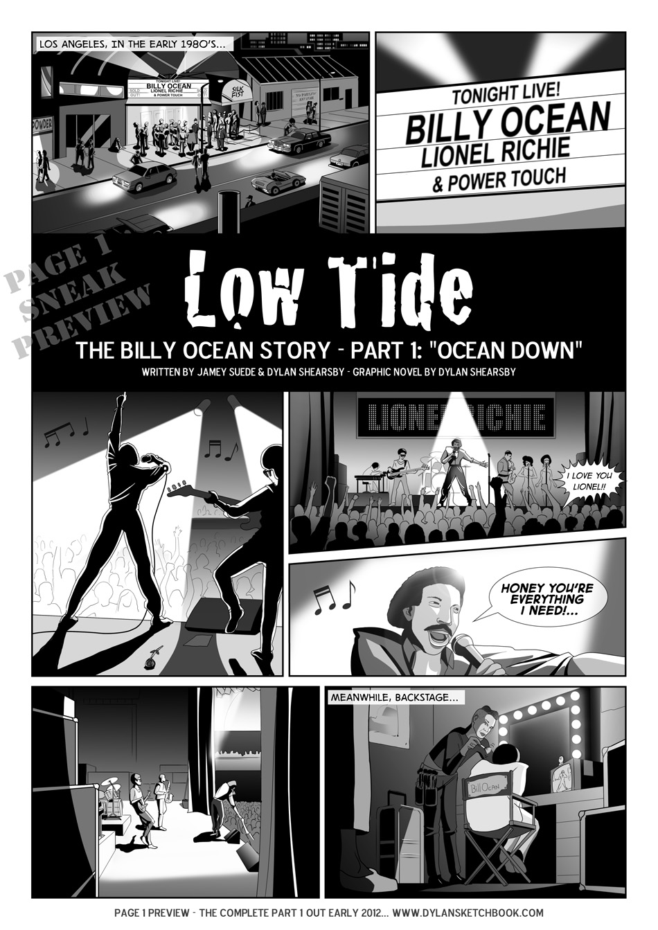 Low Tide - Sneak Preview - By Dylan Shearsby